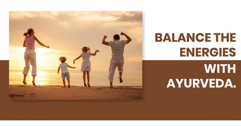 Balance the Energies With Ayurveda (Divya Kit)